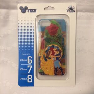 Beauty and The Beast iPhone cell cover